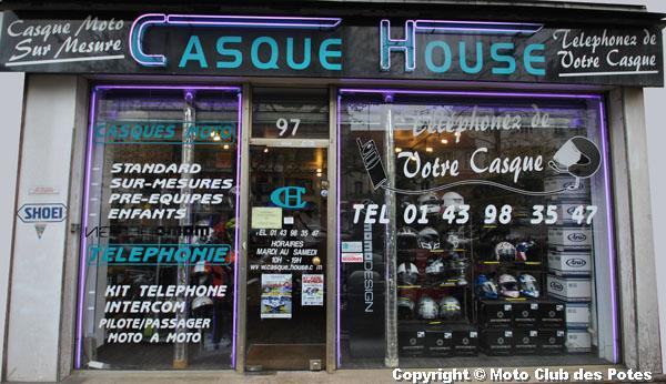 Les interviews du moto club des potes casque house - Casque moto course ...